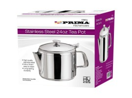 Stainless Steel 24oz Tea Pot