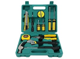 Professional 12 Piece Basic Carry Tool Box Set