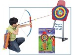 New Laser Bow And Arrow Archery Toxophily Set