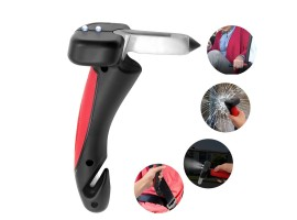 Car Portable Door Handle - Disability Standing Aid with Flashlight