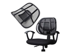 Home Office Chair Air Mesh Back Massage Cushion Pad Lumbar Support