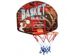 Wall Mountable Kids Basketball Net and Ball Play Set