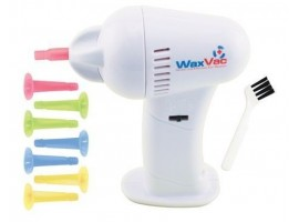 Cordless Ear Cleaner - Wax Remover Vac Vacuum LED Auto Ear Cleaner