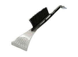 Long Handle Windscreen Ice Scraper with Brush