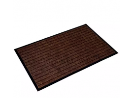Heavy Duty Non Slip Anti Skid Mat For Kitchen Hall Doorstep And Bathroom 75x45cm (Brown)